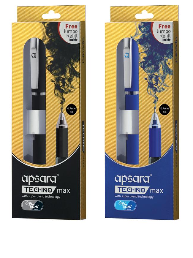 Techno Max Gel Pen Hindustan Pencil